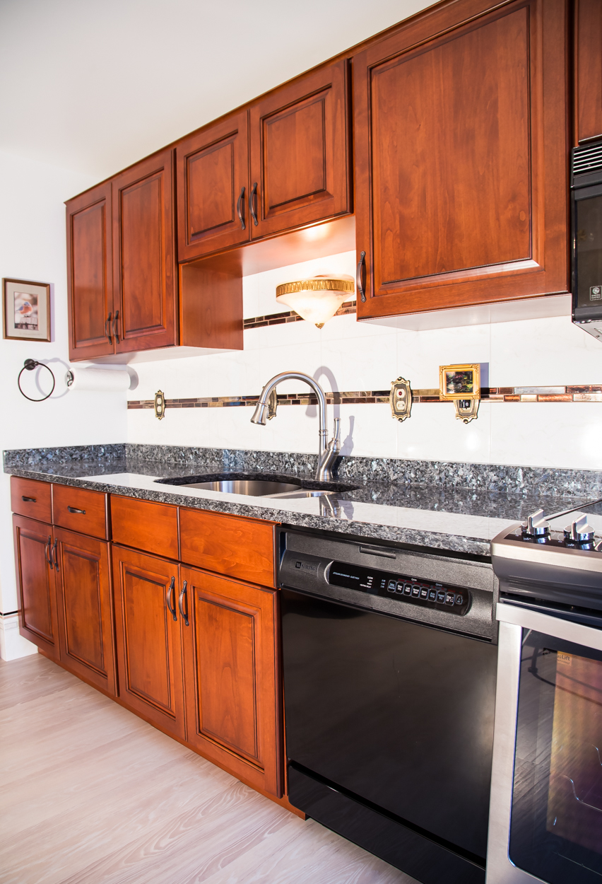 Frederick Md Cherry Cabinets National Refacing Systems